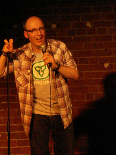 On Stage @ The Alley Bar Performing 'Home & Away' at the Melbourne Comedy Festival 2008