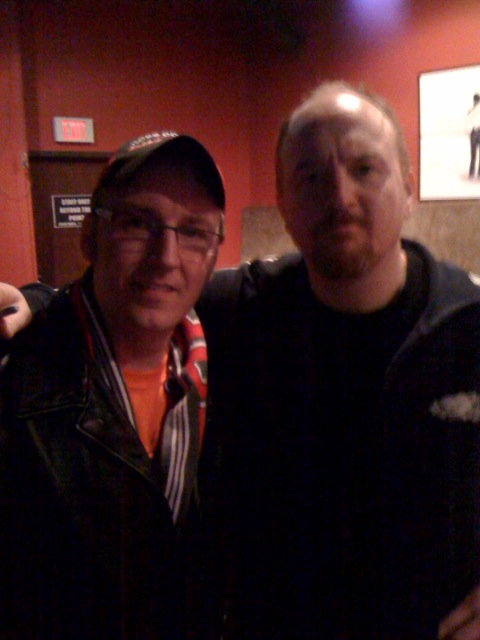 Me and Louis CK - Winter 2008