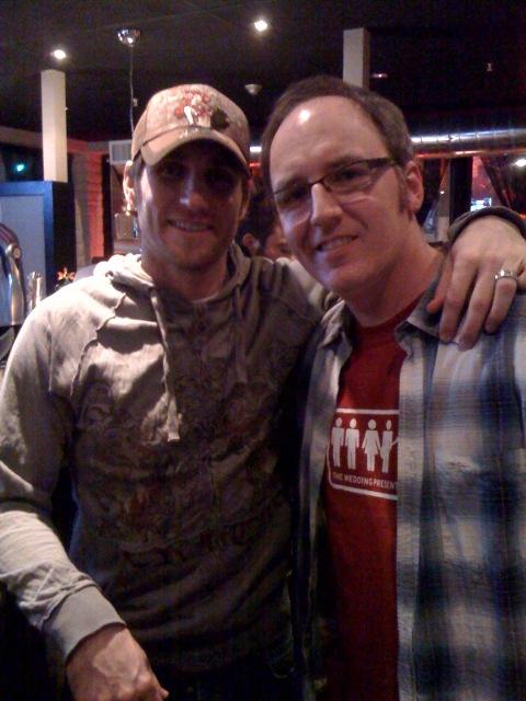 Me and Jim Brennan - Winter 2008