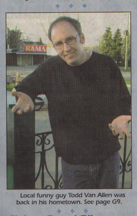 Front Page Picture of Gananoque Reporter, 2009.05.05
