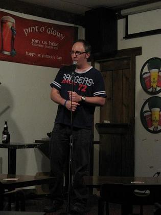 "First Night of ""Comedy Above the Pub"", McVeigh's, Toronto, ON"